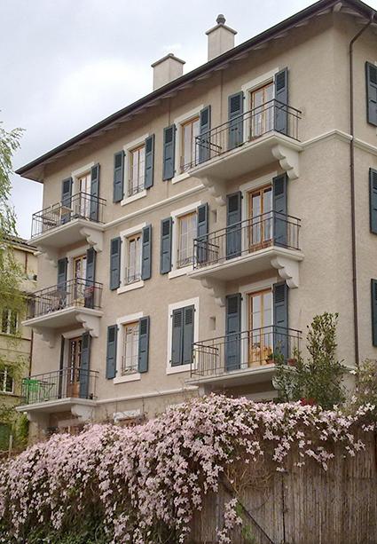 Lausanne colocation appartements meubl s pour for Appartement meuble lausanne